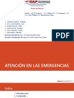 Antecion de Emergencias