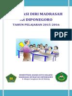 Cover Evaluasi Diri Dan Rencana Kerja