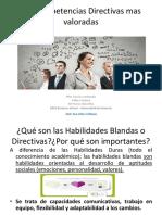 Competencias Directivas (Chinchilla y Cardona)