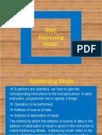 Addressing Mode