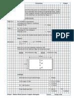 Structural Calculation of Slab Design