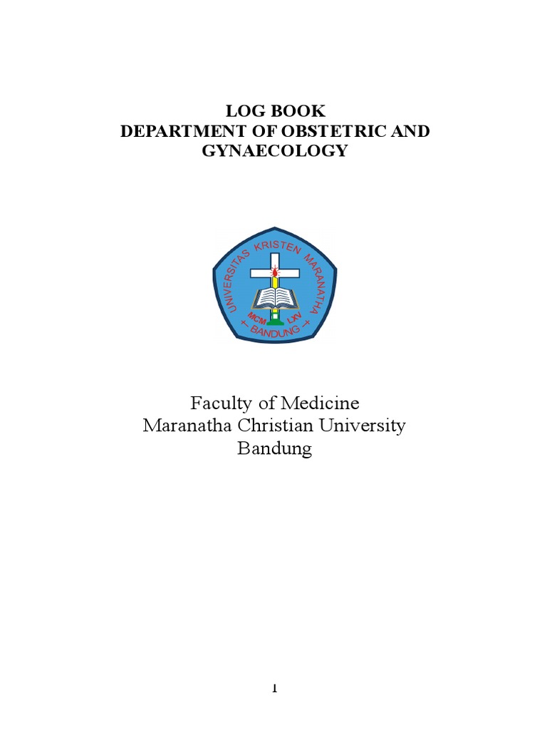 Logbook Department of Obstetric and Gynaecology rev docx
