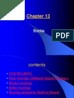 Chapter 13- Bearing