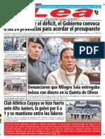 Periódico Lea Martes 21 de Agosto Del 2018