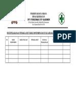 9.3.1.c Bukti Pengukuran Indikator Mutu Layanan Klinis