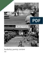 Berkeley Poetry Review 43