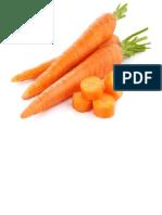 Frutas y Verduras Para La Ruleta