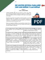 001a. Manual Lectio Divina. Ficha Para Animadores 1