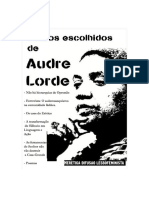Textos Escolhidos de Audre Lorde - Traduzido Por Tatiana Nascimento
