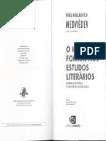 O Método Formal Nos Estudos Literários - Medviédev