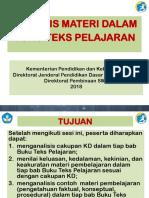 2.a Analisis  Materi dalam Buku Teks Pelajaran Pak AT_edit JK.ppt