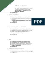 Cronograma Actividades Convención de DORCAS 21-22 Julio 2017