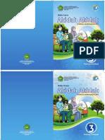 Cover Akidah Akhlak 3 Siswa & Guru