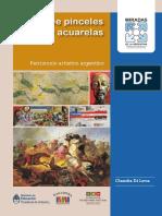 Cultura Argentina de Pinceles y Acuarelas .