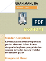 KD 1.1 Kebutuhan Manusia