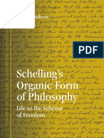 [SUNY Series in Contemporary Continental Philosophy] Bruce Matthews - Schelling's Organic Form of Philosophy_ Life as the Schema of Freedom (2011, State University of New York Press)