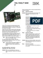 IBM x3650 M3 Controllers for Internal Storage