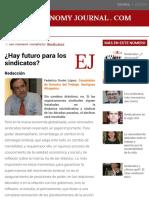 Pregunta - Hay Futuro Para Los Sindicatos