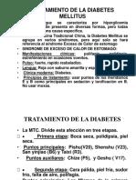 Diabetes y MTCh