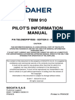 TBM 910 Flight Manual