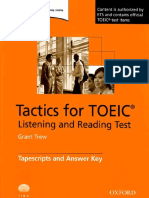 Tactics for TOEIC Listening and Reading Test (Tapescript and Answer Key).pdf