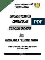 3º Grado - Programación Anual - Pfrh 2018