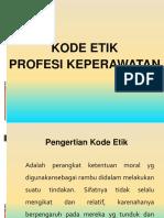 7.Kode Etik Profesi Keperawatan
