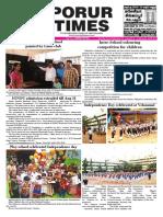 Porur Times Epaper Published on Aug 19