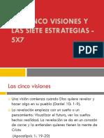 Las Cinco Visiones y Las Siete Estrategias