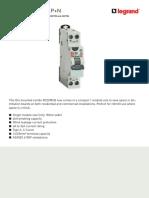 Legrand Compact RCBO 1P N 01