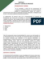 Cap I Instrumentacion y Control de Procesos