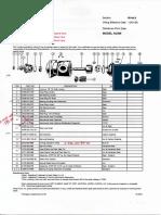 Data Sheet Oil Pump Comp B& C ( BP )004