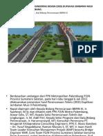Presentasi Ded Jembatan Musi II Metropolitan Palembang
