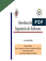 Introducción a la Ingeniería de Software