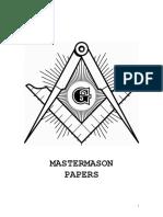 Masonic Short Talk Bulltins -Master Mason