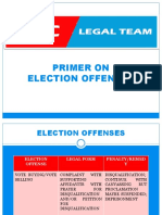 Election Offenses