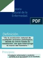 Historianatural de La Enfermedad