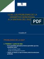 12 de Los Problemas de La Gramatica Generativa a La Sintaxis Del Siglo XXI