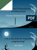 Functional Programming Fundamentals