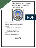 INFORME DE BIOLOGIA( PLASMOLISIS Y TURGENCIA )