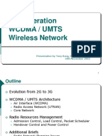 3G WCDMA UMTS Wireless Networks