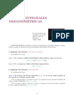 Capítulo 4 Integración Trigonométrica (1)