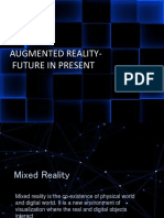 Augmented Reality Future in Present Ppt