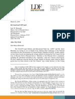 Pleasant Grove Letter