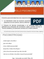 DESARROLLO PSICOMOTRIZ