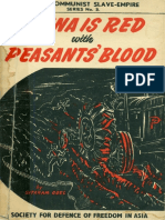 China is Red With Peasants Blood