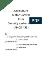 Amcs 433 Documentation