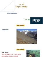 Lec 10 Slope Stability