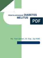 Penatalaksanaan Diabetes Melitus
