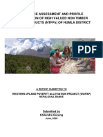 Assessment of High Valued NTFPs of Humla_finale